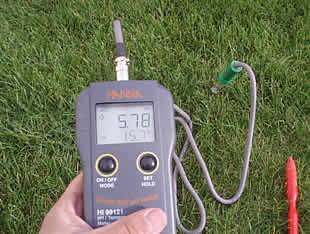 instrumento mide grado acidez disolucion: