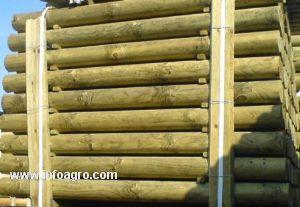 Se vende postes de madera tratada adra - Postes de madera tratada ...