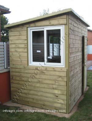 Se vende casetas madera jardin - Casetas de madera de jardin ...