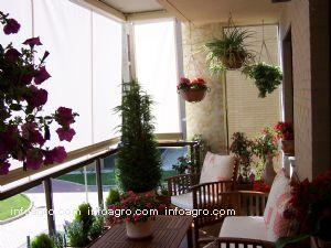 Decoraci n de terrazas y aticos de paisaje jardineria - Decoracion de terrazas cerradas ...