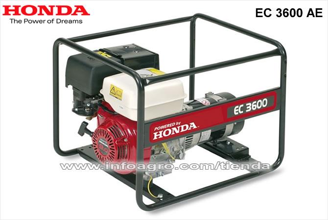 Generador el ctrico econ mico monof sico honda ec 3600 ae for Generador electrico honda precio