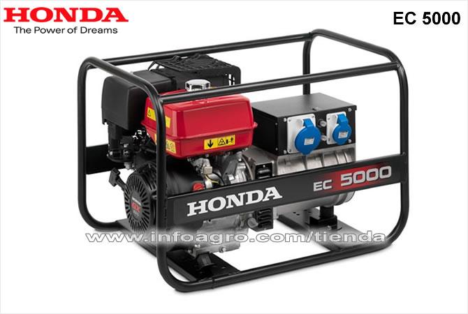 Generador el ctrico econ mico monof sico honda ec 5000 - Precio de generadores ...