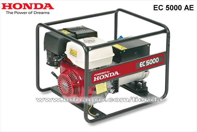 Generador el ctrico econ mico monof sico honda ec 5000 ae for Generador electrico honda precio