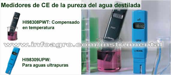 Medidor econ mico de conductividad el ctrica de la pureza - Agua destilada precio ...