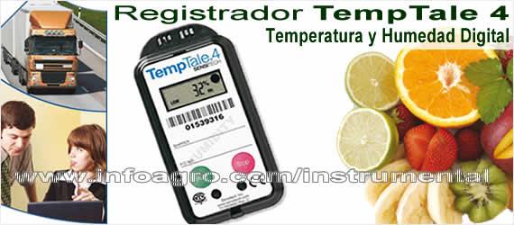 Registrador digital de temperatura y humedad relativa for Medidor de temperatura y humedad digital
